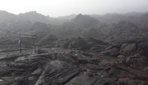 Terrain in Volcano