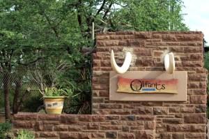 Olifants Camp entrance