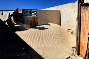 Sandy area