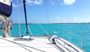 Approach to Hog Cay Cut