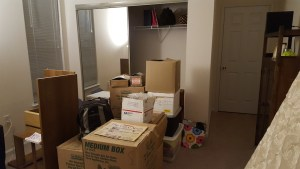 Moving into apartment