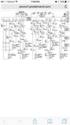 1999 Denali Bose Amp wiring harness diagram | Chevy Tahoe