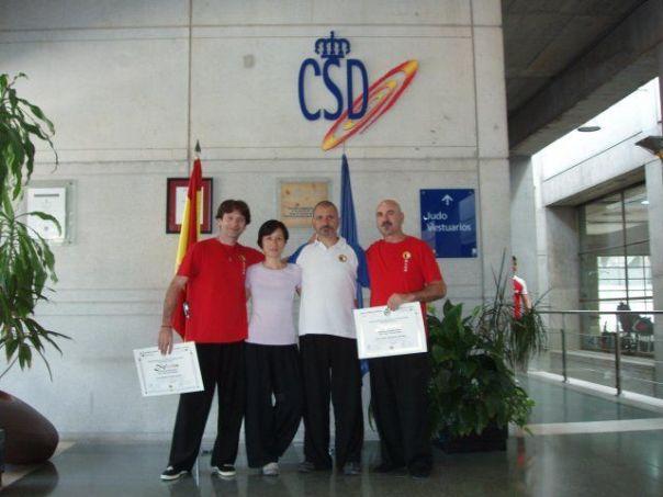 Roberto Casado, Maestra Celia Lam, Maestro Pedro Valencia, Pedro Fernandez.