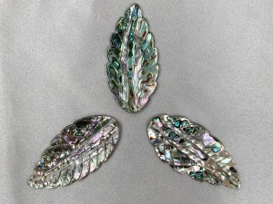 Ash Leaf Abalone Shell Loose Piece - Per Pair