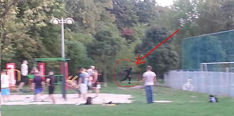warszawski ninja park skaryszewski