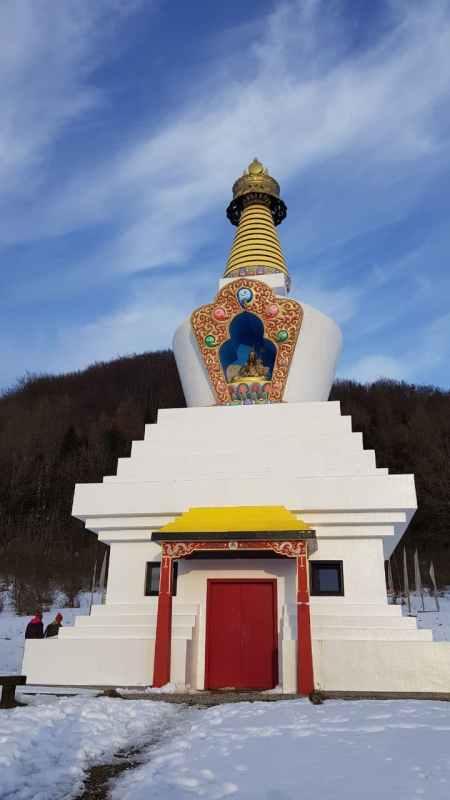 stupa czyli relikwiarz
