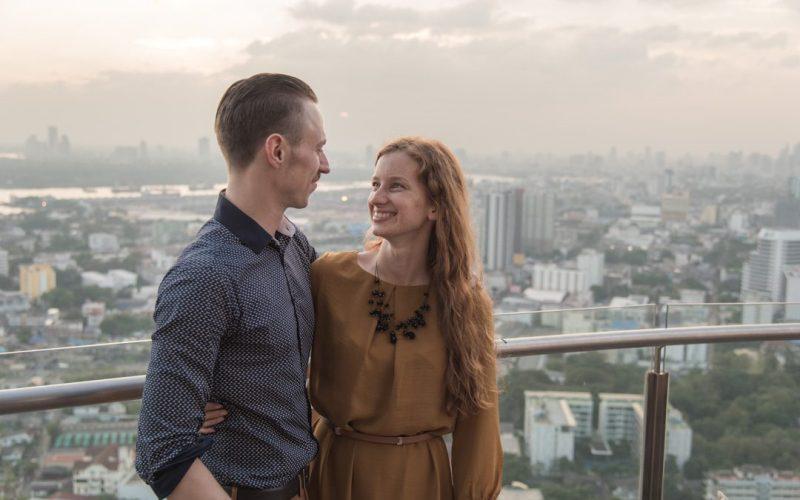 Austė ir Vidmantas - mokytojai, gyvenę ir dirbę Bankoke, Tailande