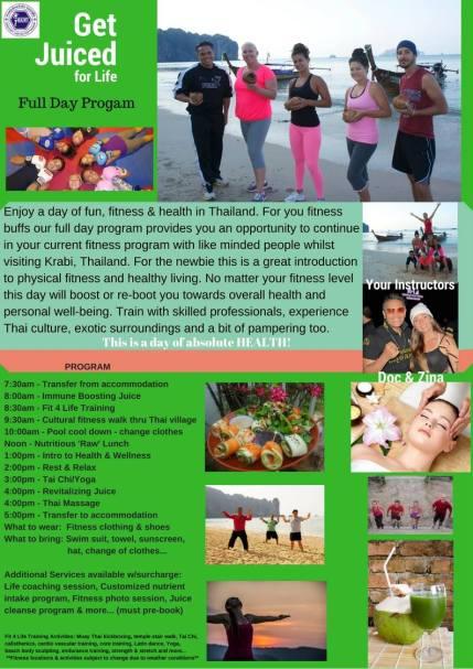 Jogos sveikatinimo retreatas Tailande