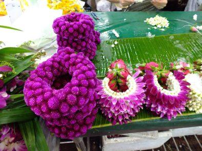 Gėlių turgus Bankoke