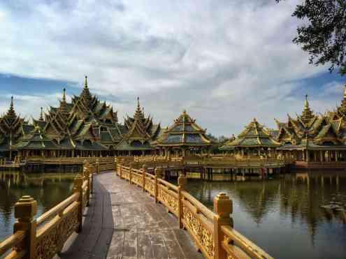 Ancient city - dar viena veikla Bankoke