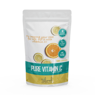 Pure Vitamin C by Taylix - Each Taylix personalised supplement is made-to-order