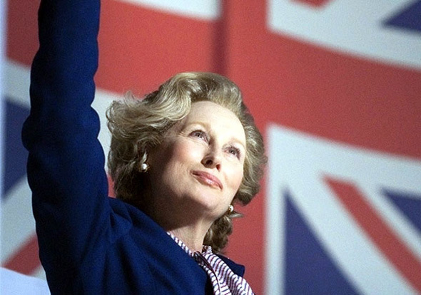 Meryl Streep is the 'Iron Lady'