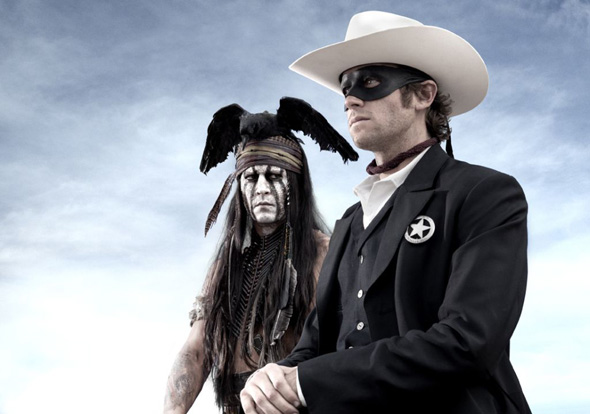 Johnny Depp and Armie Hammer co-star in 'Lone Ranger'