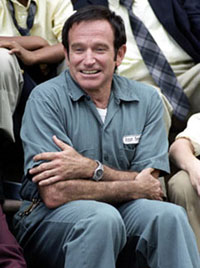 Robin Williams as Pappass in David Duchovny's 'The House of D'