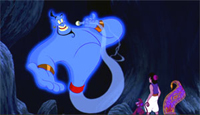 Robin Williams brings the Genie to life in 'Aladdin'