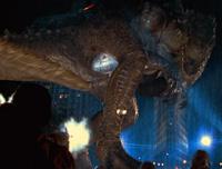 The giant lizard gets the CGI treatment in 1998's 'Godzilla'