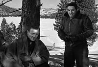 John Wayne (left) headlines 'Island in the Sky'