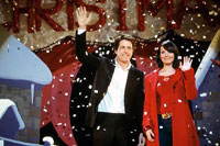 Hugh Grant and Martine McCutcheon in 'Love Actually'