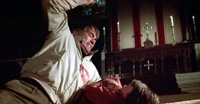 Gregory Peck tries to kill the devil in 'The Omen'
