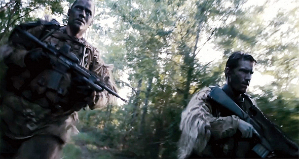 Soldiers on the move in 'Act of Valor'
