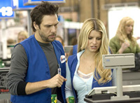 Dane Cook pursues Jessica Simpson in 'Employee of the Month'