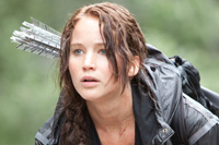 Jennifer Lawrence stars in 'The Hunger Games'