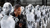 Will Smith hunts killer robots in 'I, Robot'