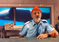 Bill Murray is the title character in 'The Life Aquatic with Steve Zissou'