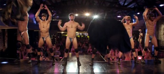 The guys take it all off for 'Magic Mike'