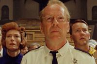 Bruce Willis (c.), Edward Norton and Tilda Swinton co-star in 'Moonrise Kingdom'