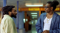 Ky-Mani Marley (left) and Spragga Benz star in 'Shottas'