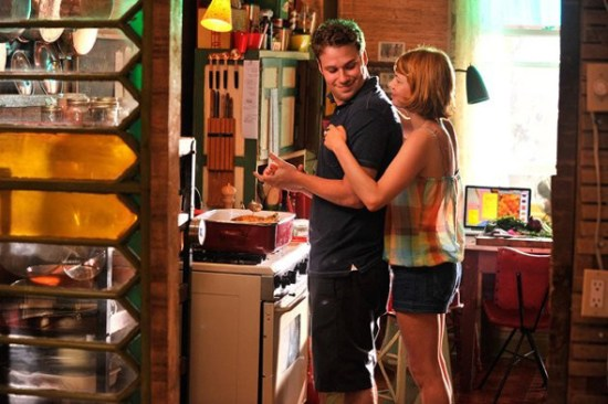 Seth Rogen and Michelle Williams in 'Take This Waltz'