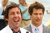 Adam Sandler and Andy Samberg star in 'That's My Boy'