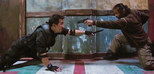 Things get close in 'The Raid Redemption'