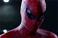Andrew Garfield dons the mask in 'Amazing Spider-Man'