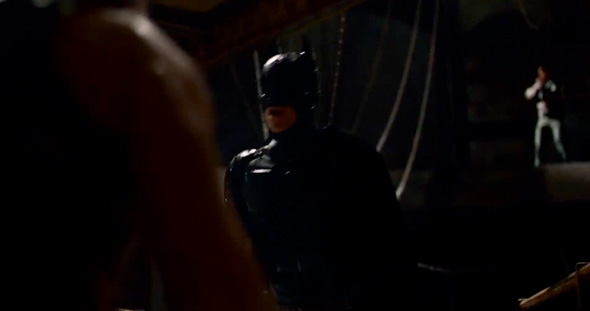 Batman in 'The Dark Knight Rises' teaser trailer