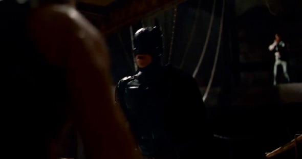 Batman in 'The Dark Knight Rises' teaser trailer