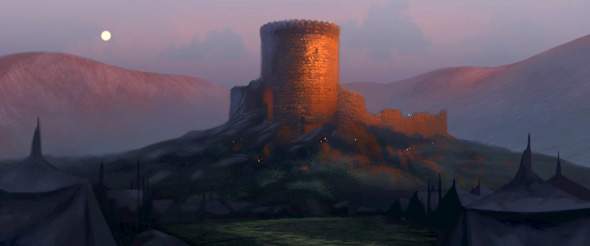 Conceptual art shows a castle in 'Brave'