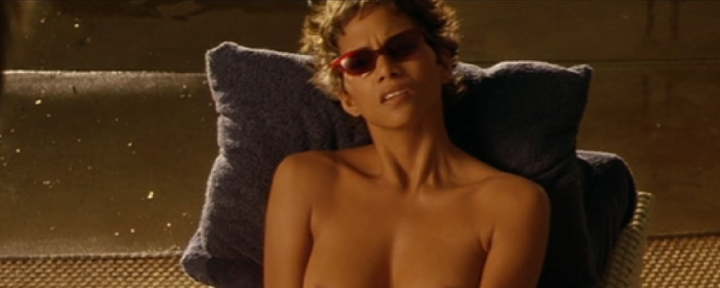 Halle berry swordfish scene not present