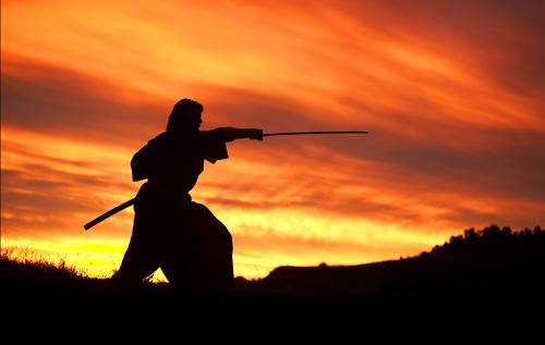 Tom Cruise in 'The Last Samurai'