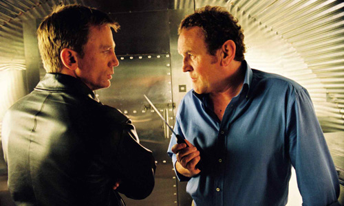 Daniel Craig and Colm Meaney in 'Layer Cake'