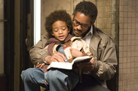 Will Smith co-stars with his son, Jaden Christopher Syre Smith in 'The Pursuit of Happyness'