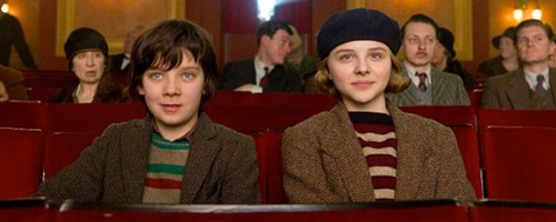 Asa Butterfield and Chloe Moretz in 'Hugo'