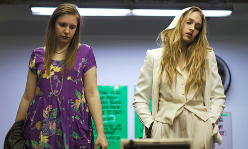 Lena Dunham and Jemima Kirke in 'Tiny Furniture'