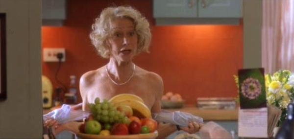 Helen Mirren in 'Calendar Girls'