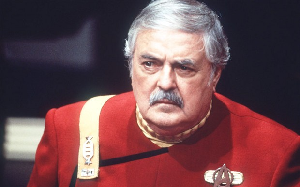 James Doohan as Scotty in 'Star Trek'