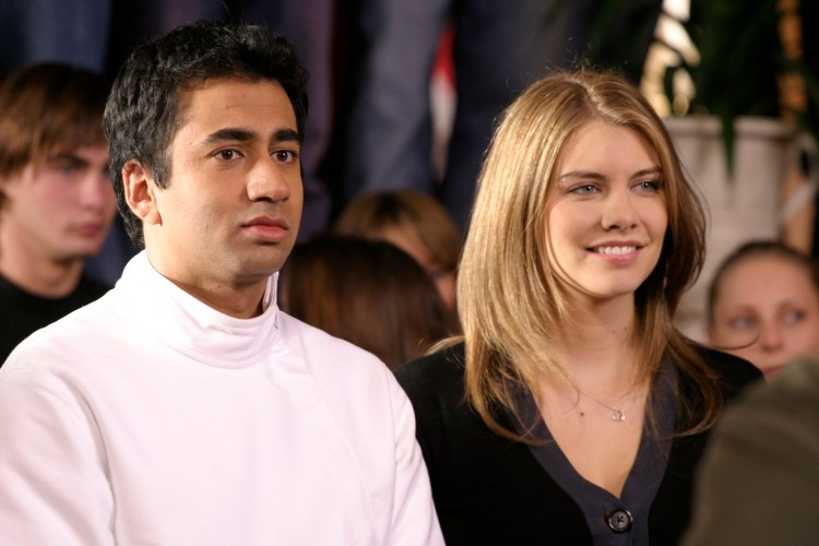 Kal Penn and Lauren Cohan in 'The Rise of Taj'