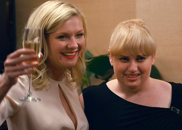 Kirsten Dunst and Rebel Wilson in 'Bachelorette'