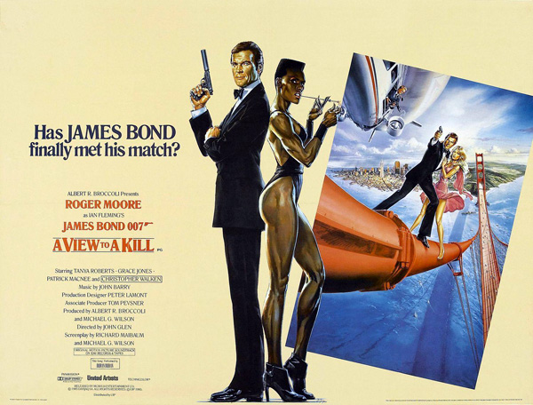'A View to a Kill' movie poster