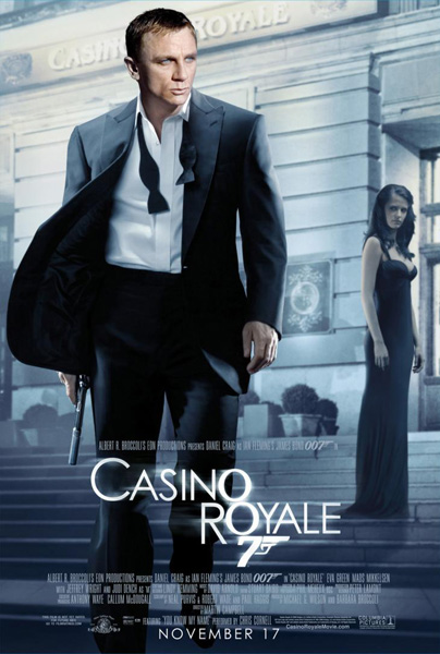 'Casino Royale' movie poster